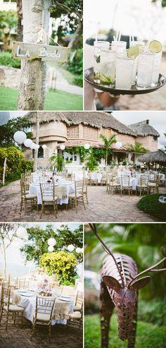 beach wedding at Villa Amor in Sayulita, Mexico, photos by Jillian Mitchell