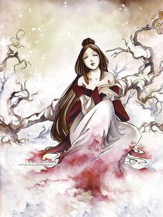 Snow Princess by =Maevachan on deviantART