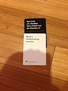 """25 Times """"Cards against Humanity"""" Was Truly Horrible . Stupid Memes, Stupid Funny, Haha Funny, Funny Cute, Funny Memes, Hilarious, Jokes, Funniest Cards Against Humanity, Harry Potter"""