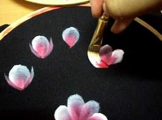 fabric painting handkerchiefs and paintings on pinterest