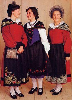 Romansh Swiss Folk Costume.