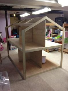 Designing & Building an American Girl Doll House *UPDATE - Page 16 - GymboFriends Gymboree Discussion Forums American Girl Storage, American Girl House, American Girl Crafts, American Girls, Girl Doll Clothes, Girl Dolls, Ag Dolls, Girls Dollhouse, American Girl Dollhouse