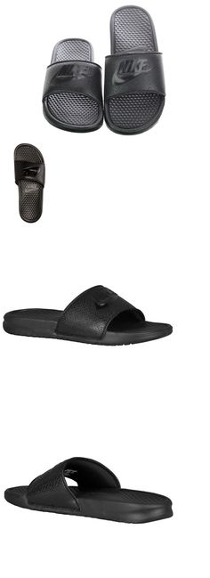 bf3d8d6acaf4 Sandals 11504  Nike Benassi Jdi Men S Slide Black Black Slipper 343880 001  Free -
