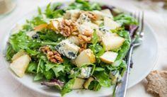 Ensalada de Pera, Rucula y Roqueort (queso azul) Receta de Ensalada de Pera, Rucula y Roqueort Karlos Arguiñano
