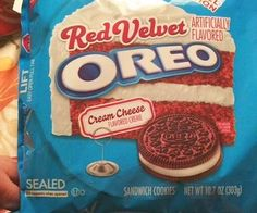 Treat yo self to the best snack you'll ever have with red velvet Oreo cookies. These delectable limited edition cookies bring you the classic Oreo taste you love with an amazing red velvet twist - complete with cream cheese filling.