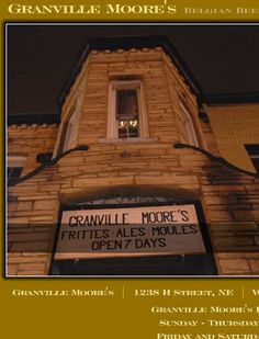 Granville Moore Restaurant  H St Corridor  Usually has a wait, head to one of the nearby bars while you wait