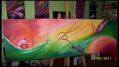 Special order created with love and delivered to one good family in Milton, ON May) Dear friend! If You like my paintings, please Like and Share on Fa. Dear Friend, Fun To Be One, Good Music, Behind The Scenes, Paintings, Wine, Fine Art, Friends, Amigos