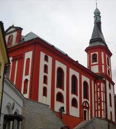 Kostel sv. Václava - Loket - Česko