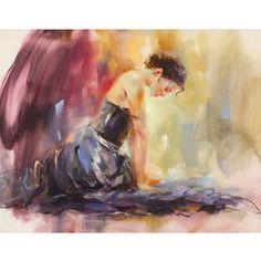 Russian Artist Anna Razumovskaya   ... Artists > Anna Razumovskaya > Before The Dance by Anna Razumovskaya