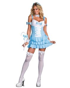 Little Bo Peep Costumes. Dazzle in this Little Bo Peepshow Sexy Fairytale Costume designed to make you look hot! Sexy Halloween Costumes, Cute Costumes, Costumes For Women, Halloween Ideas, Costume Ideas, Halloween Party, Little Bo Peep Costume, Maid Fancy Dress, Fairy Tale Costumes