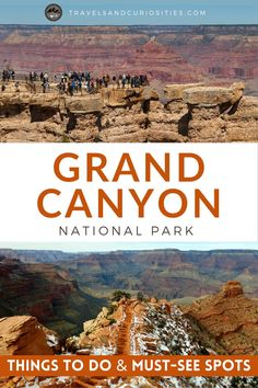 Headed to the Grand Canyon? Check out our guide on the best hikes, the coolest places to stay, and unique things to do at Grand Canyon National Park. **** Travels and Curiosities is a Travel and Photography Blog Featuring Unique Travel Destinations, Hidden Gems, Unique Camping Destinations and More! **** grand canyon things to do | grand canyon south rim | things to do at the grand canyon | things to do in grand canyon | grand canyon things to do travel guide Best Travel Guides, Usa Travel Guide, Travel Usa, Beginner Photography, Photography Tips, Travel Photography, Trip To Grand Canyon, Grand Canyon National Park, Best Places To Camp