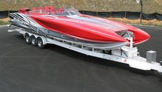 388 Douglass Marine Skater. This model is one of the baddest performance boats in the world.