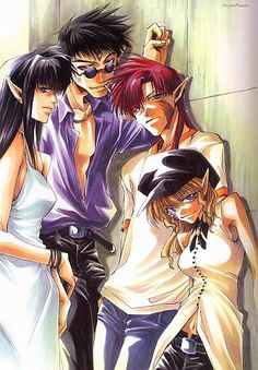 Yes they make an appearance in TE. Did I mention the fact that everyone is human and it's set in our reality in modern times? Saiyuki ~~ Kou's team