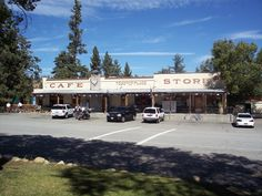 Tom's Place near Bishop, California ... We had breakfast here on a few occasions before going to the Rock Creek Lake Trail Head to hike in to the Hilton Lakes.  Don't eat the pancakes! ...Pat