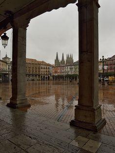Plaza Mayor in Burgos - Castile and León, Spain