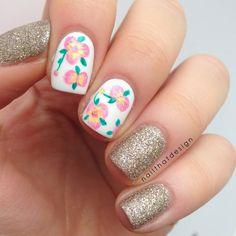 Textured Polish x Flowers