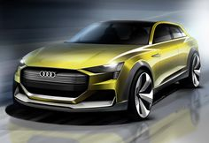 New Audi H-Tron Quattro Concept Is A Hydrogen-Powered Crossover