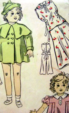 Vintage Sewing Pattern Shirley Temple Doll by ThePatternVixen, $10.00