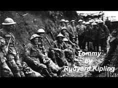 ▶ Tommy ~ Rudyard Kipling Poem - YouTube