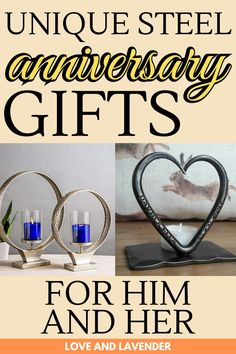 Show your husband or wife just how much you care with a perfectly unique 11th wedding anniversary gift. Check out this pin for our top picks and inspirations. #weddinganniversary #weddinganniversarygifts #steelanniversarygifts #steelweddinganniversary