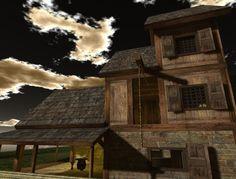 Honour's photo of the tavern barn.