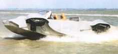 Anfíbio Aquada - o carro mais rápido anfíbio no mundo