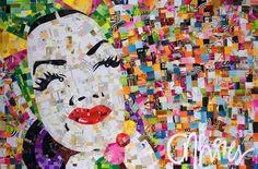 Carmen Miranda, Andy Warhol, Pop Art, Arte Pop, Portrait, Painting, Design Moda, Marilyn Monroe, Brave