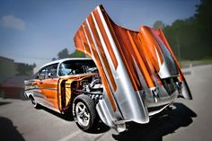 1957 Chevy  - hot rods, chevy, cars