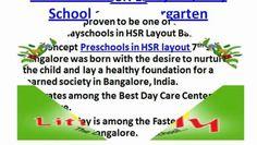 Preschools in HSR Layout, Play School and Kindergarten - Video Dailymotion