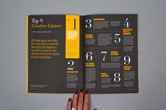 Discover more of the best Print, Design, and Layout inspiration on Designspiration Typography Layout, Graphic Design Typography, Editorial Layout, Editorial Design, Magazine Layout Design, Magazine Layouts, Print Design, Web Design, Publication Design