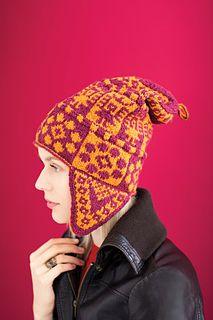 a5d1bbc539d  14 Andean Chullo Hat pattern by Deborah Newton
