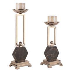 金属烛台 金属+大理石 多尺寸可选