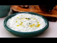 TZATZIKI, MAI BUN DECÂT LA GRECI | Bucătar Maniac - YouTube Romanian Food, Tzatziki, Food Videos, Hummus, Entrees, Recipies, Cooking, Ethnic Recipes, Dressing
