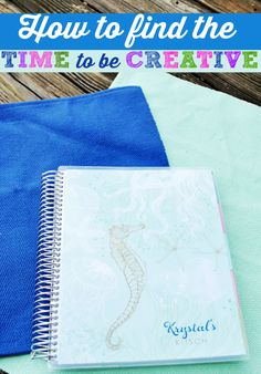 If you're a busy blogger or hard-working mom, use your Erin Condren planner to find time to be creative!