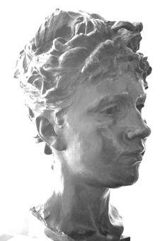 Louise Claudel (1885) par Camille CLAUDEL (1864-1943). Bronze, Musée des Arts Roger Quillot, Clermont-Ferrand. Photo : Hervé Leyrit