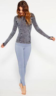 Barefoot Yoga Co. | OMgirl Hatha Legging  in Organic Cotton