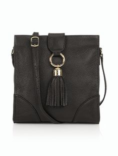 Talbots - Kelsey Tassel Crossbody Bag | Fall Tag Sale |