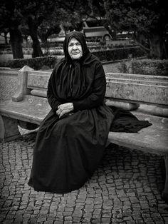 Portugal - People - In Black by Ali Rahmati