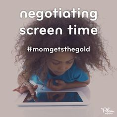 If you've perfected the art of screen time negotiation with your kid, we think you deserve a medal too. Get up on that podium!  #MomGetstheGold