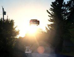 Los saltos en auto que apasionan a Matthew Porter