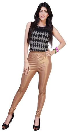 41fe35406fb9ad women shiny golden satin neon liquid wet look leggings XXXL size free  shipping #wetland #