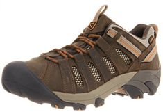 New Keen Mens Voyageur Leather Athletic Support Hiking Trail Walking Shoes Sz 10 Best Hiking Shoes, Hiking Boots, Hiking Gear, Trail Shoes, Trail Running Shoes, Composite Toe Boots, Steel Toe Work Shoes, Hiking Fashion, Keen Shoes