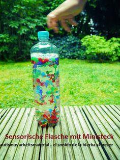 Autismus Arbeitsmaterial: Sensorische Flaschen