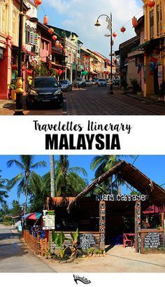 The Travelettes Itinerary for Malaysia