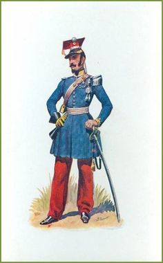 French; Chasseurs d'Afrique Officer 1832