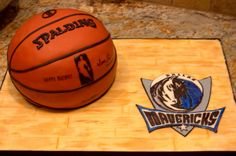 Cakes by Tatiana: Dallas Mavericks Basketball Cake