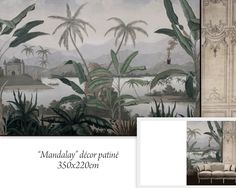 Paysages en grisaille - Mandalay grisaille vieillie 350x225 - ultra mat