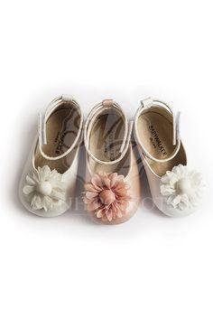 Παπούτσια βάπτισης αγκαλιάς με σκληρό πάτο για κορίτσι της Babywalker  Βρεφικά Παπούτσια 0fb08c920af