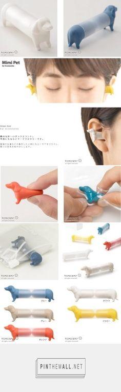 超療癒!日本設計臘腸狗造型耳塞,陪你專心做事、安心入眠 | VidaOrange - created via https://pinthemall.net