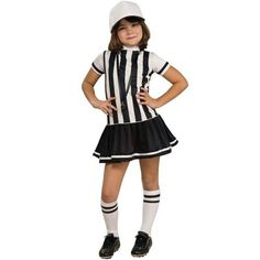 Referee Child Costume, As Shown, Child Large *** For more information, visit now : Kids halloween costumes